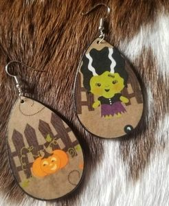 Handcrafted Halloween Earrings